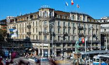 Neue Luxushotels an Bord: Die Mitglieder der Worldhotels, hier der Schweizerhof in Zürich, bilden die obersten Kategorien ab