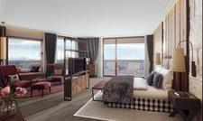 So soll's aussehen: Eine der neuen Suiten im Interalpen-Hotel Tyrol (Rendering)