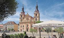 Beliebtes Ziel: Der Marktplatz von Ludwigsburg.