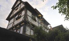 Die Alte Vogtei in Köngen: Dieses schmale Fachwerkhaus sorgt für mächtig Wirbel