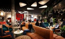Radisson Red: Zur geselligen Lobby kommt eine neue Generation von Hotelzimmern, zu sehen auf den folgenden Bildern