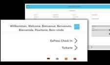 Willkommen im Hotel: So präsentiert sich die Kiosk-Lösung von Sihot