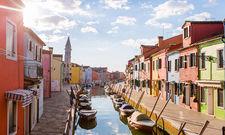 Nah am Wasser gebaut: In der Lagune von Venedig empfängt das Romantik Hotel Casa Burano seine Gäste