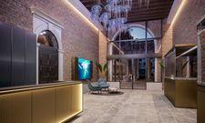 Maritimes Motto im Mittelpunkt: Die Lobby des Hotel Aquarius Venice, an Ascend Hotel Collection Member