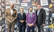 Die Akademie-Macher: (von links) Olaf P. Beck, Elke Schade, David Etmenan, Robert Panz.