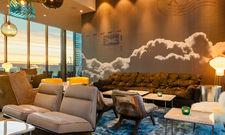 Individuell: Die Lobby des Motel One Leipzig