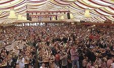 Großer Rückhalt: Die Zelte sind bei den politischen Kundgebungen des DEHOGA immer voll.