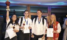 Die Sieger: (von links) Gülhan Yanar, Marc Spitznagel, Kim Gaubies, Anna Landwehr.