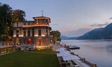 Präsentiert sich gewohnt luxuriös: Die Hotelgruppe Mandarin Oriental mit ihrem Resort am Comer See