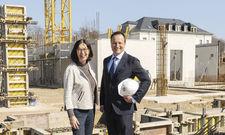 Die Betreiber vor Ort: Renate Wimmer und Martin Lachout von Arcotel.