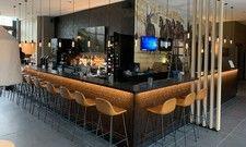 Die Paddocks Bar im neuen Ibis Styles Vechta