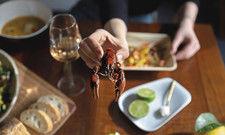Aus einem Problem eine Geschäftsidee gemacht: Holycrab bereitet aus Amerikanischen Sumpfkrebsen, die sich in Berlin breitmachen, leckere Gerichte zu.