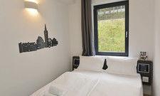 Ob mit einem oder zwei Betten: Die Doppelzimmer sind 15 bis 16 Quadratmeter groß.
