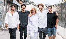 Prominent in der Koch-Szene: Haya Molcho und ihre Söhne