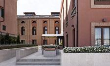 Einladend: Eingangsbereich des Centric Murano bei Venedig