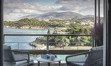 Besondere Lage: Gäste im Four Seasons Astir Palace haben Blick auf die Riviera von Athen.