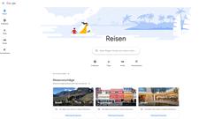 So sieht's aus: Das neue Portal Google Reisen (Screenshot)
