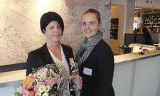 Eingespieltes Team: Die frisch gekürte Housekeeping-Managerin Sina Schindler (links) von Brenners Park-Hotel & Spa, und ihre Stellvertreterin Martina Steigerwald-Fenske.