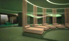 Moosgrün: Das Design des Laurea Spa ist inspiriert vom Laurissilva Forest