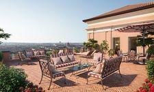Blick auf die ewige Stadt: Damit will das neue Rocco Forte Hotel punkten