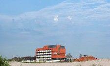 Bekommt ein Facelifting: Das Upstalsboom Hotel am Strand in Schillig