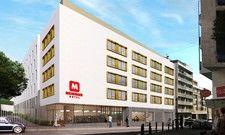 So soll's aussehen: Ein Rendering des geplanten Meininger Hotels in Marseile