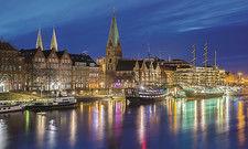 An der Weserpromenade: Die Kennzahlen der Bremer Hotellerie haben sich 2018 positiv entwickelt, aber der Wettbewerb nimmt zu.
