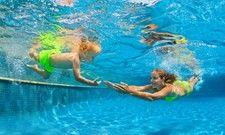 Gefragte Wasserbecken: Auch bei Swimmingpools ist das Prinzip des Teilens, bzw. Untervermietens, denkbar