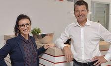 Gehen neue Wege: Natalia Kleibaum und Thorsten Leich von der Date up Training GmbH in Hamburg.