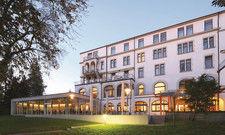 Parkhotel Jordanbad in Biberach: Einer der Spielorte des kulinarischen Weinsommers.