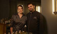 Schmeißen Haushalt und Restaurant: Sommelière Jacqueline Lorenz und Spitzenkoch Gal Ben-Moshe
