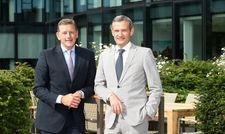 Freuen sich über die Unterstützung: Kai Richter (links) und Jörg Lindner, geschäftsführende Gesellschafter der 12.18. Investment Management GmbH