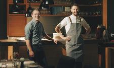 Stehen hinter dem Konzept mit ambitionierter regionaler Küche: Restaurantleiter und Sommelier Oliver Habig (links) und Küchenchef Carl Grünewald