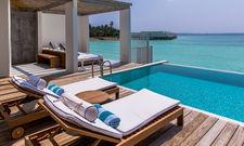 Davon träumt so ziemlich jeder: Das Resort Amilla Fishi auf den Malediven
