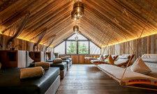 Keine 08/15-Architektur: Eine der individuellen Relaxzonen der Vitalwelt