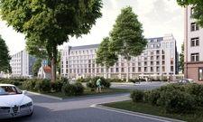 So soll's aussehen: Ein Rendering des geplanten Prizeotel Dresden-City