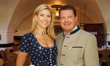 Kämpfen für ihr Unternehmen: Wirt Peter Hubert mit seiner Frau Caterina