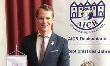 Neue Herausforderung: Arian Röhrle steht nun der deutschen AICR-Sektion vor