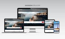 So sieht sie aus: Die neue Webseite RadissonHotels.com