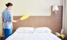 Nicht mehr täglich vonnöten: Die Zimmerreinigung