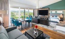 So sehen sie aus: Die neuen Penthouse-Suiten im Kurhotel Bad Staffelstein.