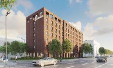 So soll's aussehen: Eine Visualisierung des künftigen Prizeotel Wiesbaden-City