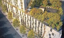 Oase in der Stadt: Das Adina Apartmenthotel bekommt eine große begrünte Dachterrasse