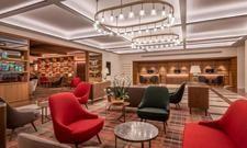 Der neu gestaltete Lobbybereich: Ein Treffpunkt, an dem die Welt zusammenkommen soll
