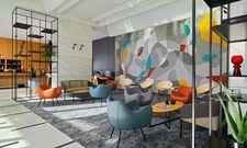 Kunst trifft auf Moderne: Die Lobby des Four Points by Sheraton Warsaw Mokotow