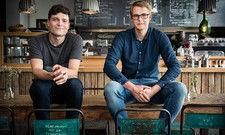 Die Gründer von Delicious Data: Jakob Breuninger und Valentin Belser