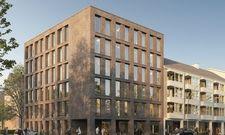 Hier sollen sich Longstay-Gäste wohlfühlen: Das jüngt verkaufte Projekt der Pantera AG in Hamburg