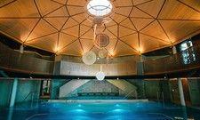 Wie in einer Grotte: Der Wellnessbereich im Mountain Resort Feuerberg