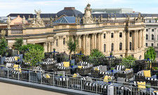 Neu gestaltet: Die Rooftop Terrace des Rocco Forte Hotel de Rome