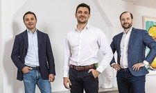 """Dimitri Chandogin, Gerhard Maringer und Christian Gaiser (von links): """"Wir verbinden hohe Qualität mit einer starken Technologie"""""""
